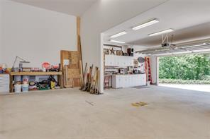 Plenty of space for someone's hobby, a man cave, and more!