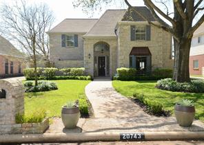 Houston Home at 20743 Vanderwick Drive Katy , TX , 77450-4917 For Sale