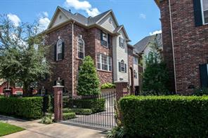 Houston Home at 1001 Crocker Street Houston , TX , 77019-4337 For Sale