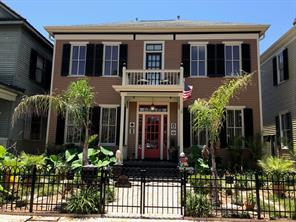 Houston Home at 1617 Ball Street Galveston , TX , 77550-4857 For Sale