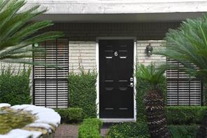 Houston Home at 3402 Garrott Street 6 Houston , TX , 77006-4440 For Sale