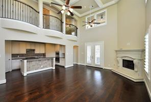 Another View of the Magnificent Open Family Room, Perfect for Entertaining. Plantation Shutters Throughout.