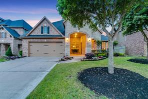 Houston Home at 5215 Paintbrush Falls Court Fulshear , TX , 77441-1423 For Sale