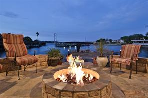 Cozy fire pit to provide a year around gathering place...do you see yourself here yet?