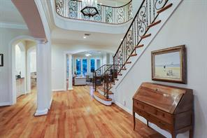 The two story entry helps to create an open floor plan and ideal home for entertaining.