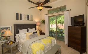This is the second guest suite.  Notice that it has an exit to the screened porch.  What a lovely spot for your guest or family member when they come to visit.
