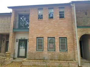 Houston Home at 612 Eldridge Parkway 6 Houston , TX , 77079-4418 For Sale
