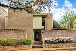 Houston Home at 15613 Memorial Drive 17 Houston , TX , 77079-4118 For Sale