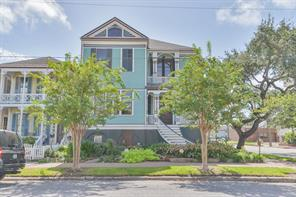 Houston Home at 1827 Ball Street Galveston , TX , 77550-4861 For Sale