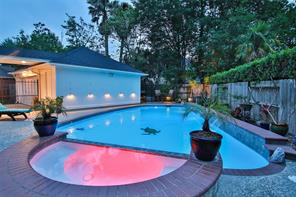 Captivating pool area for those midnight swims.