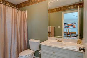 Full bath that is connected to the fourth bedroom that is up. Home is in very good condition, no maintenance has been deferred.