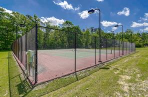 TENNIS COURT lighted and for the exclusive use of Emerald Lakes property owners.