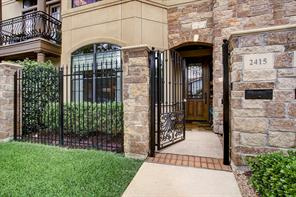 Houston Home at 2415 Commonwealth Street Houston , TX , 77006-2511 For Sale