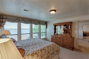 Master Suite with view of Lake Conroe.