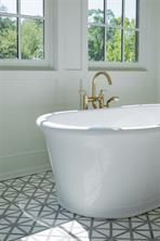 Master Bathroom: Large bay window with soaking tub