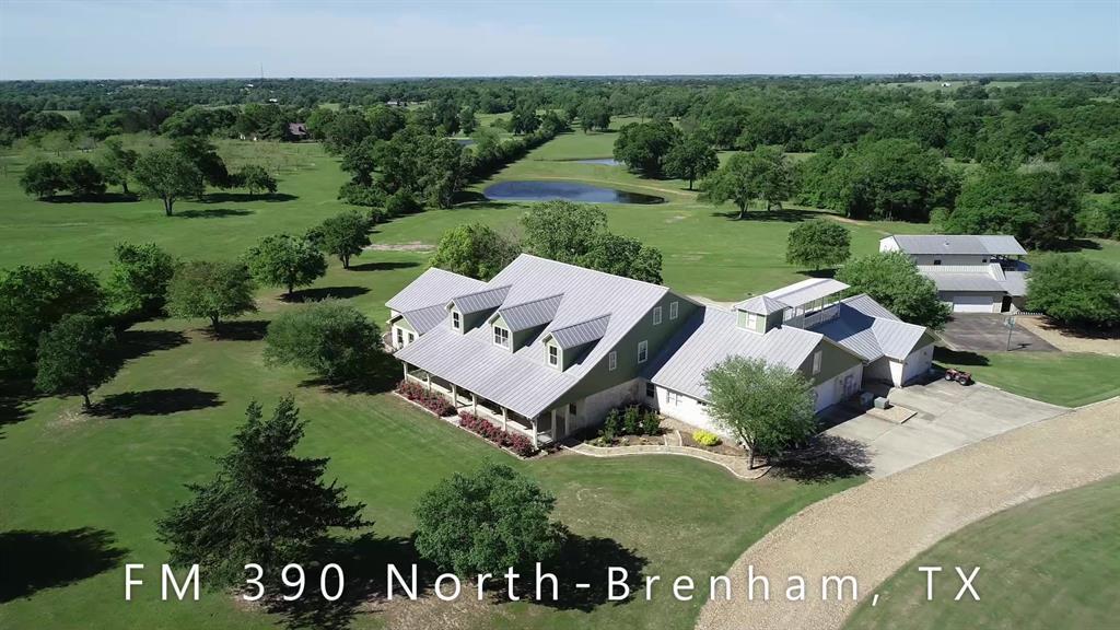 3909 FM 390 N Highway, Brenham, TX 77833