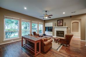 The master suite has large windows and a great sitting area!