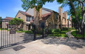 Houston Home at 1908 Augusta Drive 5 Houston , TX , 77057-3717 For Sale