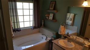 Beautiful Master bathroom with soaking tub and separate shower