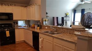 Granite counter-tops and gas oven/range