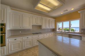 Large windows allows even the cook a spectacular view!!! Lots of storage and prep and serving counter space.