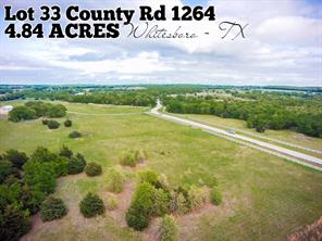 Lot 33 County Rd 1264, Whitesboro TX 76273