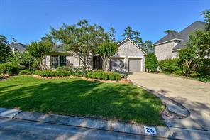 Houston Home at 26 Palmer Green Place The Woodlands , TX , 77381-4262 For Sale