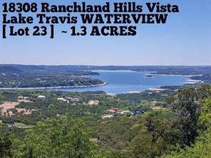 Houston Home at 18308 Ranchland Hills Vista Jonestown , TX , 78645 For Sale