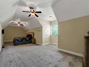Huge upstairs secondary bedroom.  Could be second game room if needed.