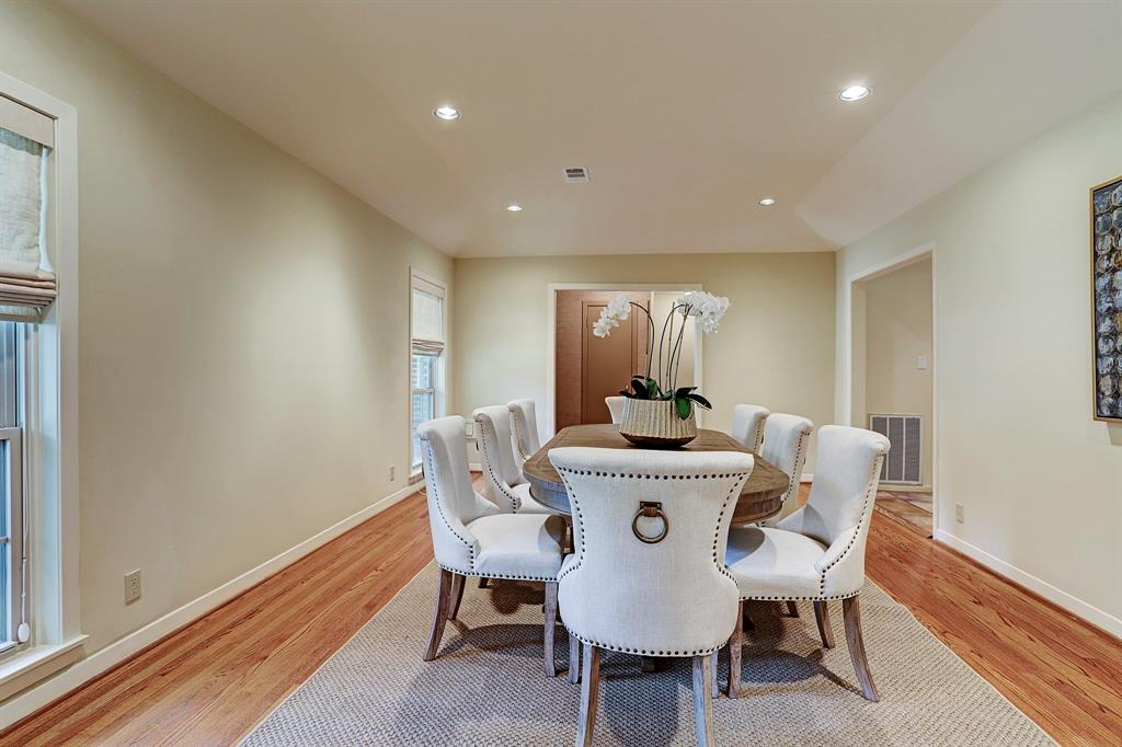 When Entering You Will Find The Dining Room Or Could Be Formal Living Off Of Entry Opening Up To Sitting In Kitchen And Leading