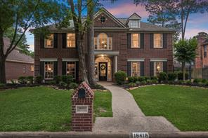 Houston Home at 16418 Graven Hill Drive Spring , TX , 77379-7160 For Sale