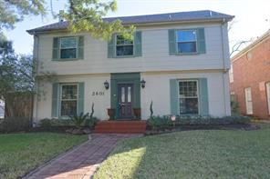 Houston Home at 2601 Cason Street West University Place , TX , 77005-3933 For Sale