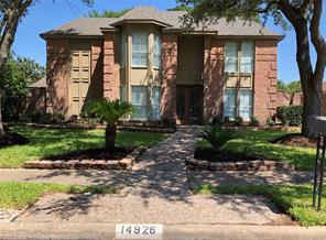 Houston Home at 14926 Mesita Drive Houston , TX , 77083-3209 For Sale