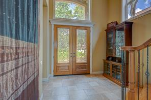 Inviting Foyer brings the outside in...