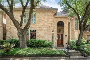 Houston Home at 56 Bayou Pointe Drive Houston , TX , 77063-1037 For Sale