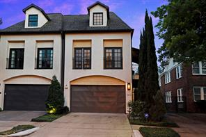 Houston Home at 2209 Devonshire Street B Houston , TX , 77019-6401 For Sale