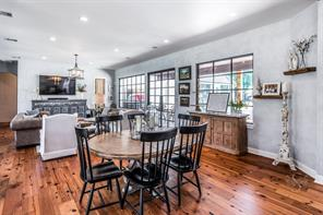 The dining area is smartly located in the center of the kitchen and great room giving you the ability to accommodate small and large gatherings.