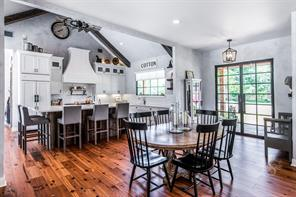 A view into this gorgeous kitchen that is to the right of the entry and dining area.