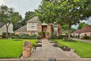 Houston Home at 15507 T C Jester Boulevard Houston , TX , 77068-1938 For Sale