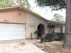 Houston Home at 2807 Killdeer Lane Humble , TX , 77396-1829 For Sale