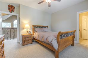 Here is just one of the upstairs guest rooms.