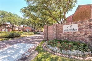 Houston Home at 7447 Cambridge Street 93 Houston , TX , 77054-2020 For Sale