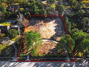 3001 Inwood Drive in River Oaks - Rare opportunity to build your dream home on this prime 1+ acre lot. Ideal property suited for the buyer with uncompromising taste who want to build a custom home to fit their lifestyle and needs. Red Line Borders are approximate.
