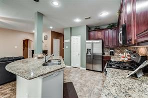 Houston Home at 23 Milepost Court Spring , TX , 77382-1900 For Sale