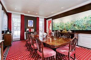 Spacious dining room with views to front yard.