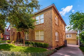 Houston Home at 1626 Castle Court Houston , TX , 77006-5708 For Sale
