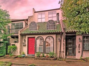 Houston Home at 201 Avondale Street E Houston , TX , 77006-3241 For Sale