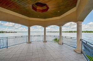 Huge outdoor private balcony from Bedroom #5.  Must see to appreciate the sunsets and sunrises!