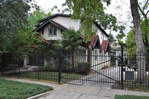 Houston Home at 3613 Audubon Place B Houston , TX , 77006 For Sale