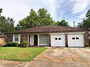Houston Home at 5531 Ariel Street Houston , TX , 77096-2101 For Sale